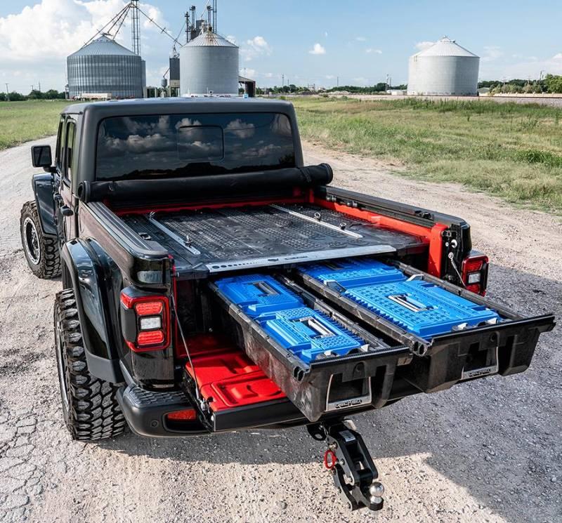 Decked Bed Storage Solution Jeep 2020 Gladiator