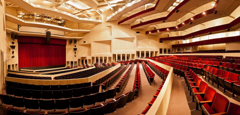 Umass Amherst Fine Arts Center Concert Hall Kuhn