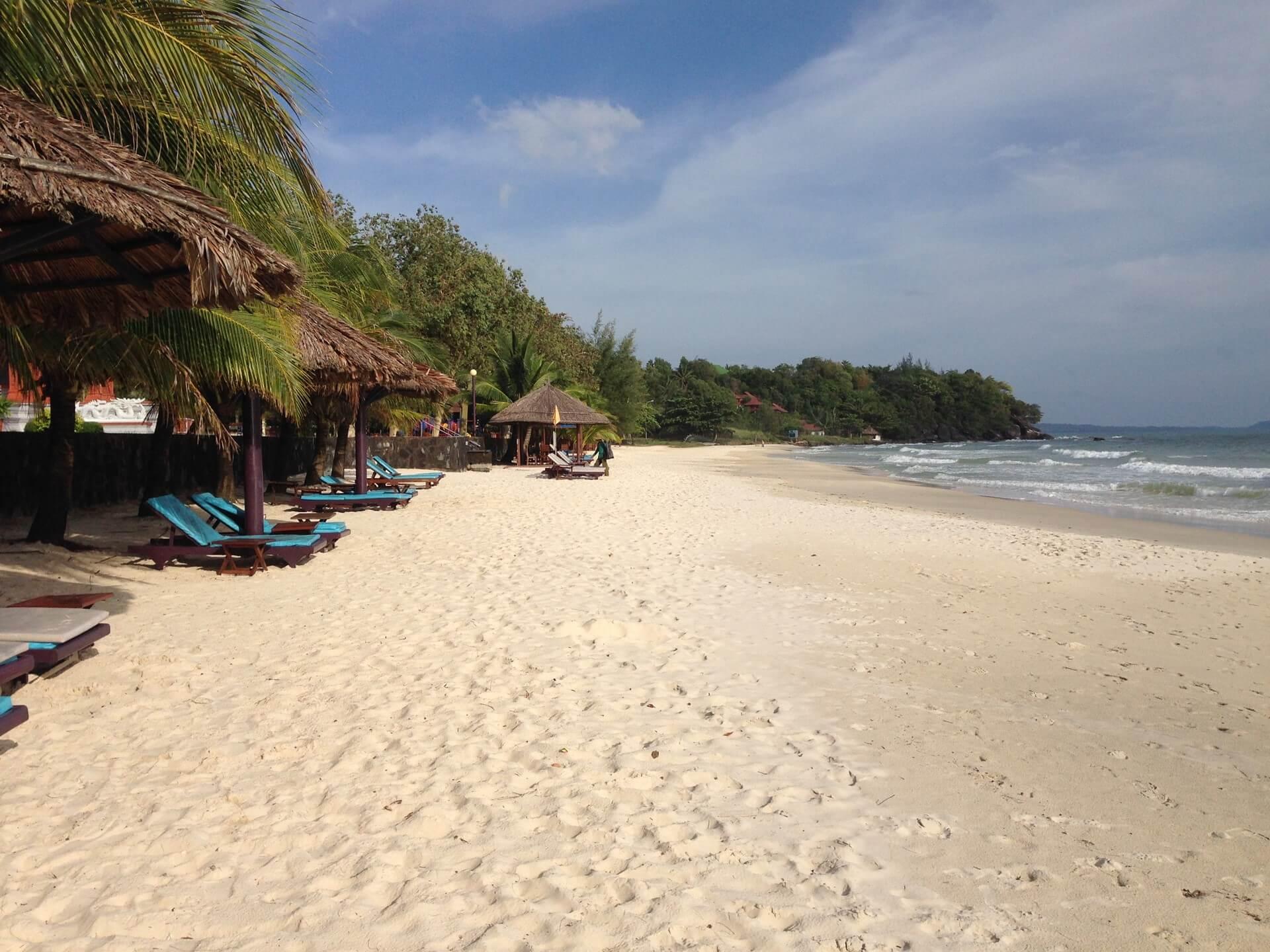 Sokha - malebná pláž Sihanoukville