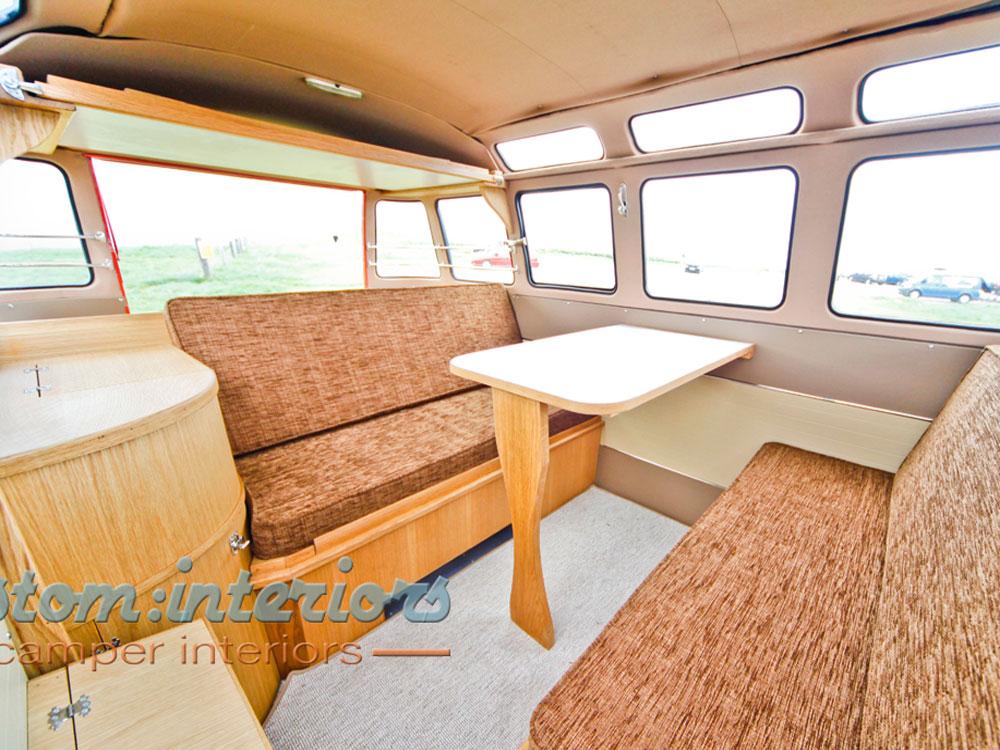 Vw Bus Westfalia Camper Layout
