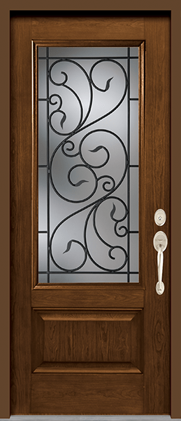 Wrought Iron Glass Designs Kv Custom Windows Amp Doors