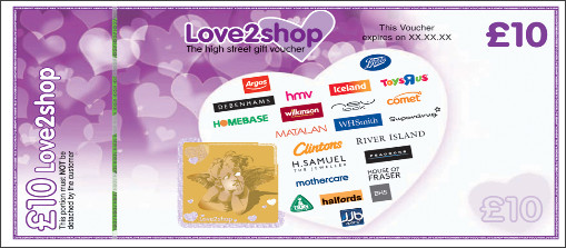 Love Can Be Online Shop Used Vouchers