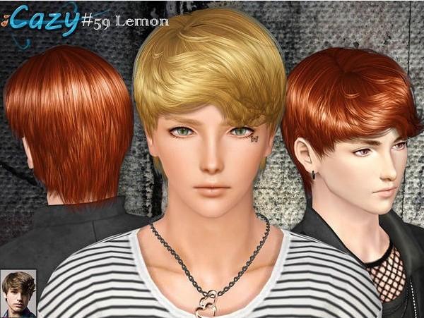 descargar peinados sims 3 - pelo cabello peinados