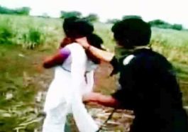 couple beaten by villagers