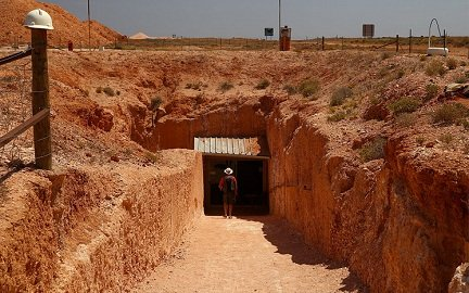 Coober Pedy Village in Australia