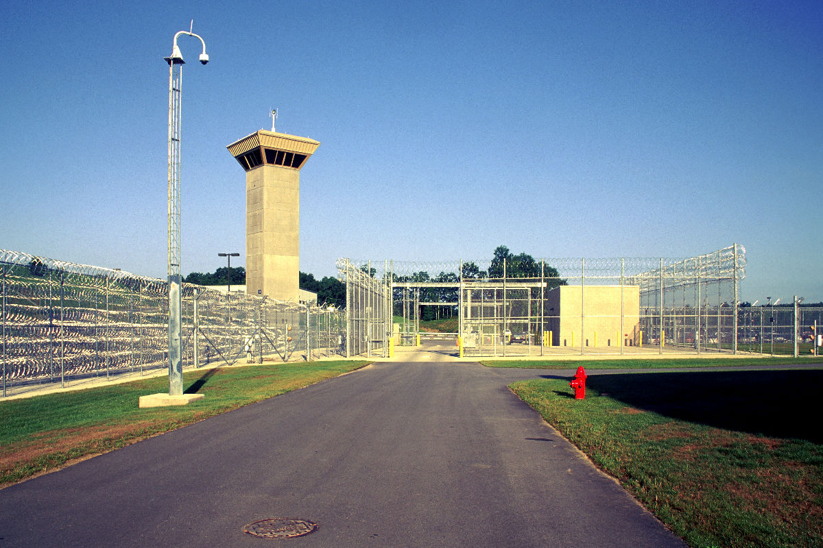 Security High Control Room Prison