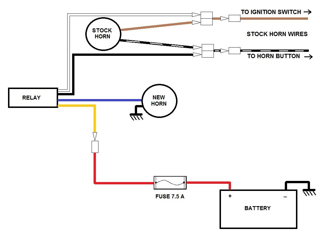 Diagram Wiring Ahooga Horn