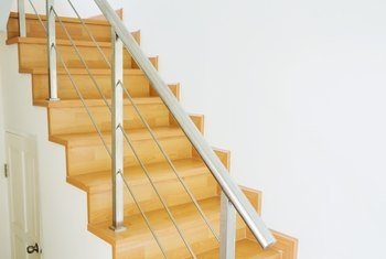 How To Fix A Slippery Staircase Home Guides Sf Gate   No Slip Strips For Carpeted Stairs   Hardwood   Traction   Brown Cinnamon   Tread Nosing   Flooring