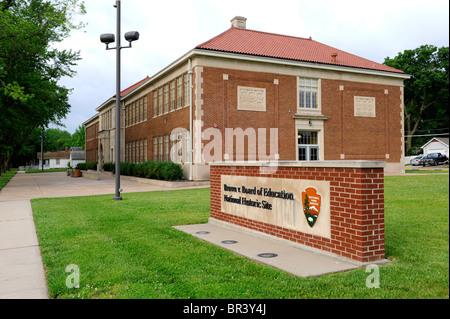 Topeka Kansas KS USA The Brown v Board of Education ...