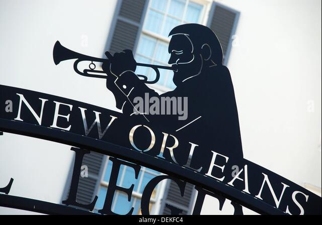 Trumpet Player New Orleans Stock Photos & Trumpet Player ...