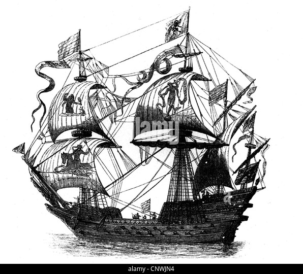 Galleon 16th Century Stock Photos Amp Galleon 16th Century