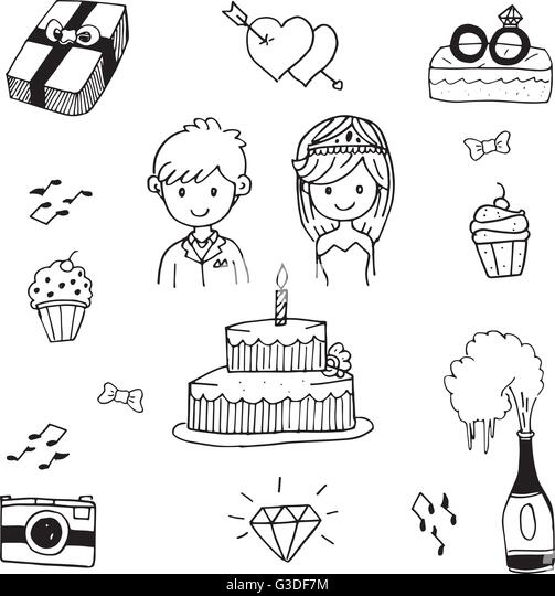 Wedding Bells Doodle