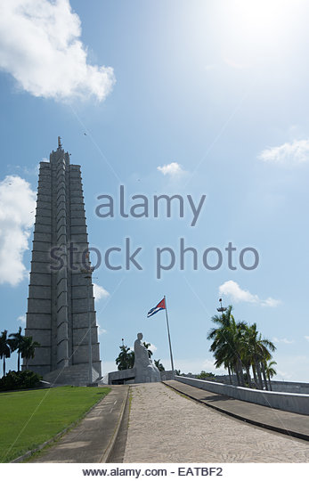 Havana Revolution Square Memorial