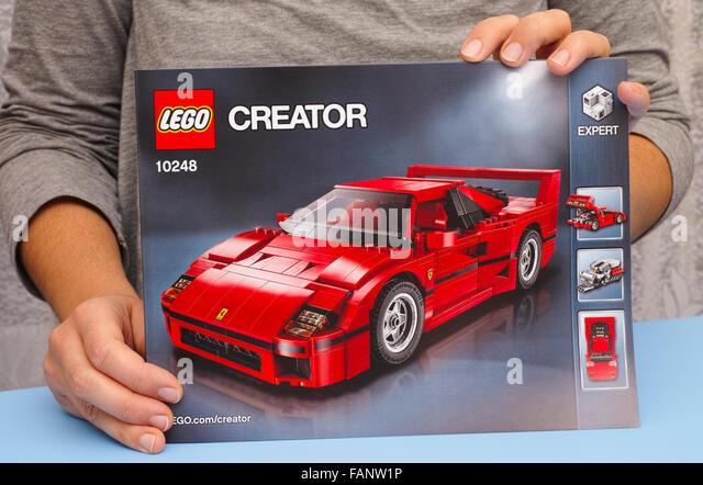 Lego Ferrari 458 Italia Door