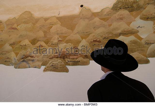 Art Old Man Praying Over Bread