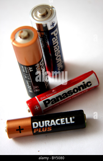 And Duracell Balck White