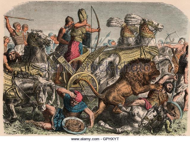 Ancient Egyptian Military Tactics