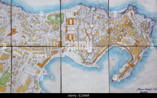 Old Camp Darby Map Italy