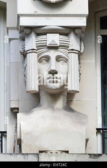 Stone Statues Rockefeller Center