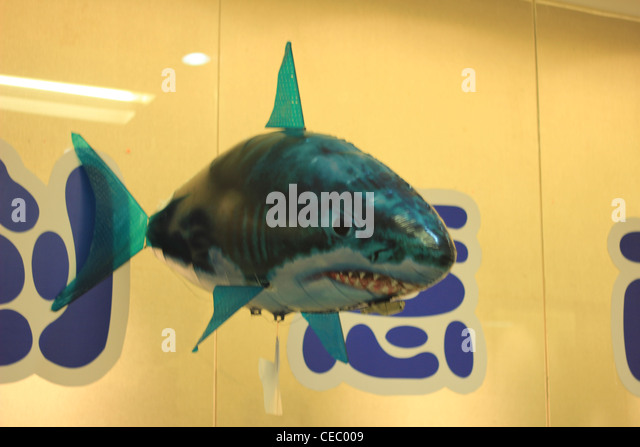 Cartoon Shark Eating Person