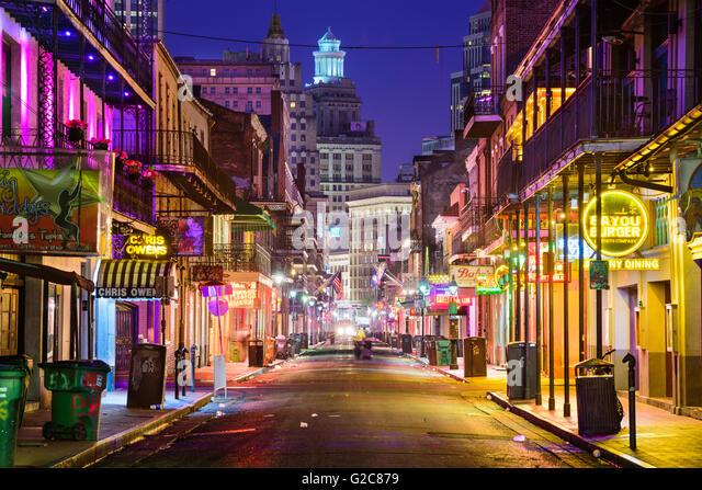 Bourbon Street Nightlife