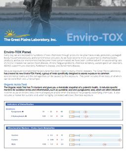 Enviro-Tox (Great Plains Lab) - Lab Tests Plus