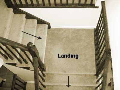 Stair Landings Installing Hardwood Flooring On Your Steps | Installing Wood Stair Treads | Stair Parts | Non Slip | Stairway | Hardwood Flooring | Stair Stringers
