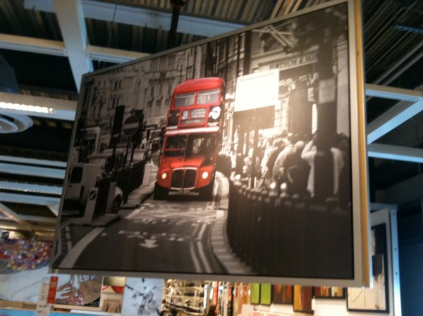 ikea pictures london bus # 30