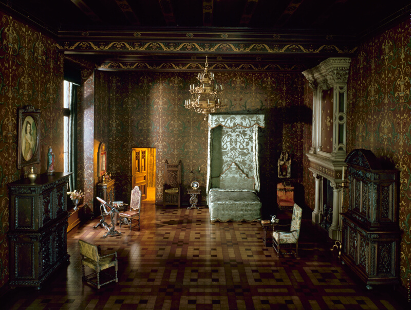 E 17 French Bedroom Late 16th Century The Art