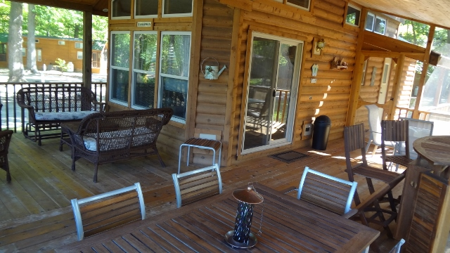 Porches Amp Decks Lakeside Cabins Resortlakeside Cabins Resort