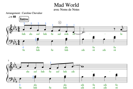 mad world sheet music piano easy » 4K Pictures | 4K Pictures [Full ...