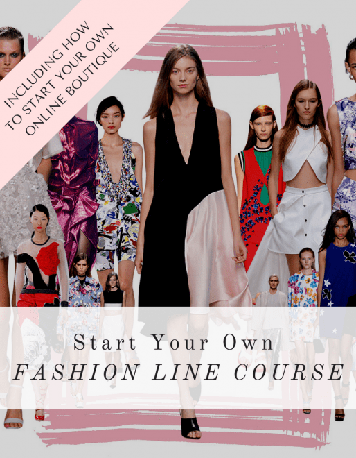 la mode college  fashion design courses  fashion courses  fashion     Start Your Own Fashion Line  Business Mentoring Course