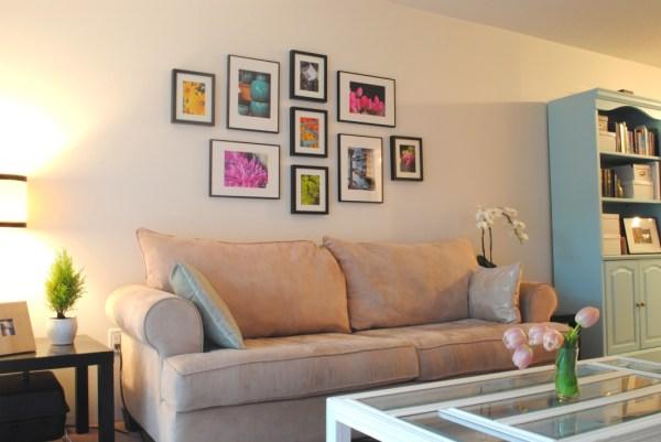 ikea ribba gallery wall layout # 26