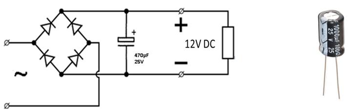 Skema af en diodebro