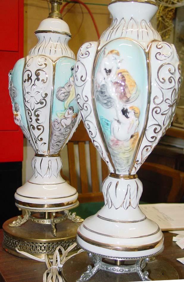 Capodimonte Lamps
