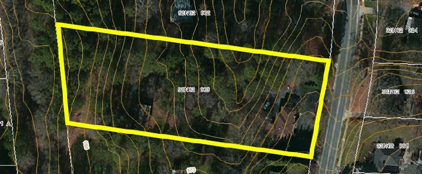 Historic Ga Map Woodstock