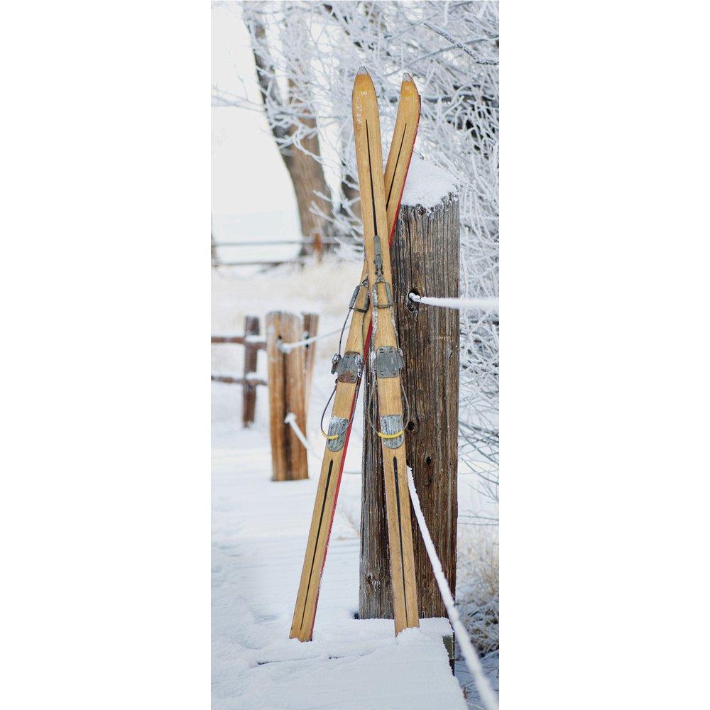 Banner Alta (Ski Paar), 75 x 180 cm Displaybanner