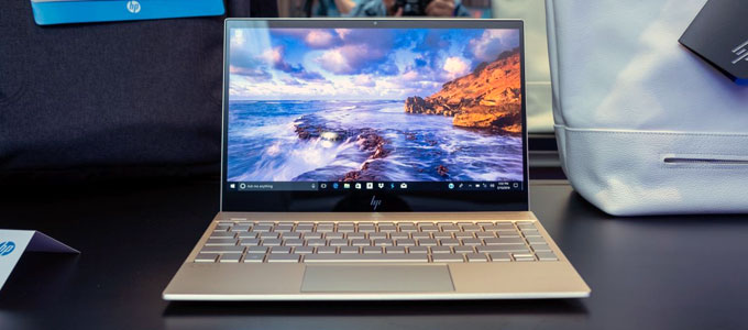 Tampilan interface HP Envy 13-ad1xx (sumber: techradar.com)