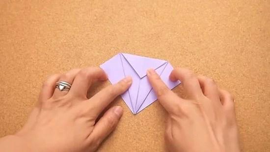 Как сделать журавлика оригами из бумаги своими руками origami zhuravlik iz bumagi 8