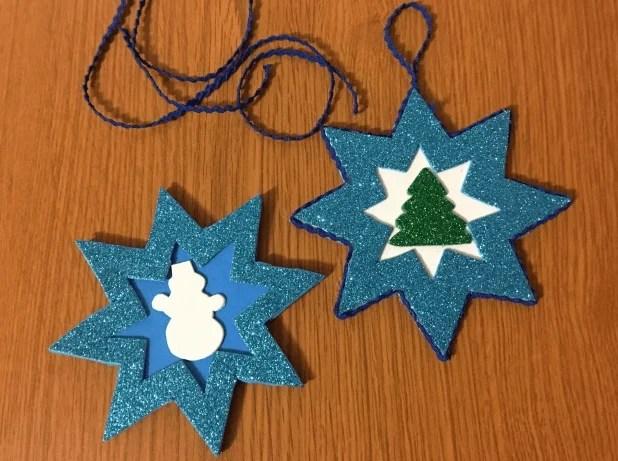 Bituin sa Christmas tree: Master Class 9 5