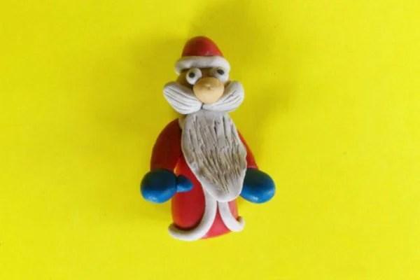Lepim Santa Claus Жаңа жылға арналған жаңа жылға арналған балалар Дед Мороз ИЗ Пластилина 12