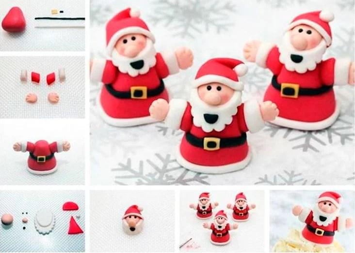 Жаңа жылға арналған Lepim Santa Claus Boin Ded Moroz Iz Plastilina 3