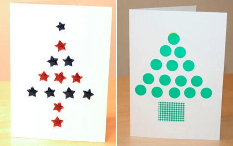 Открытки на Новый год своими руками: простые и оригинальные поделки в садик и школу 3 4