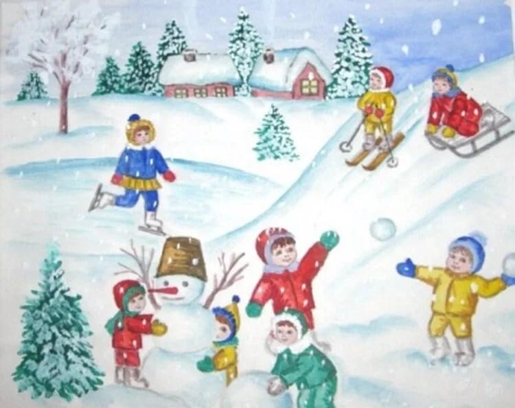 Dessins pour sujets de Noël: Que peut-on tirer sur la nouvelle année Risunki Na Novogodnyuyu Temu 109