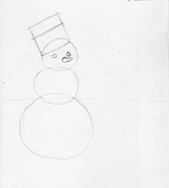 Dessins pour sujets de Noël: Que peut-on tirer sur la nouvelle année Risunki Na Novogodnyuyu Temu 114