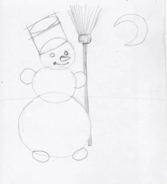Рисунки на новогоднюю тематику: что можно нарисовать на Новый год risunki na novogodnyuyu temu 115