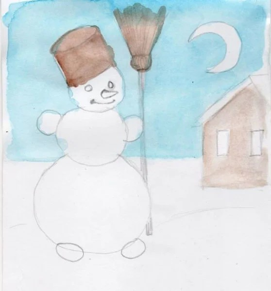 Dessins pour sujets de Noël: Que peut-on tirer sur la nouvelle année Risunki Na Novogodnyuyu Temu 118
