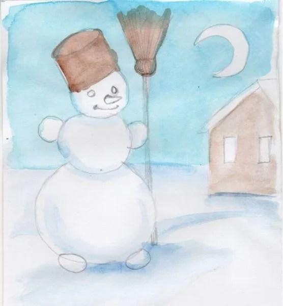 크리스마스 주제용 도면 : 새해에 그려 졌을 수있는 risunki novodnyuyu temu 119