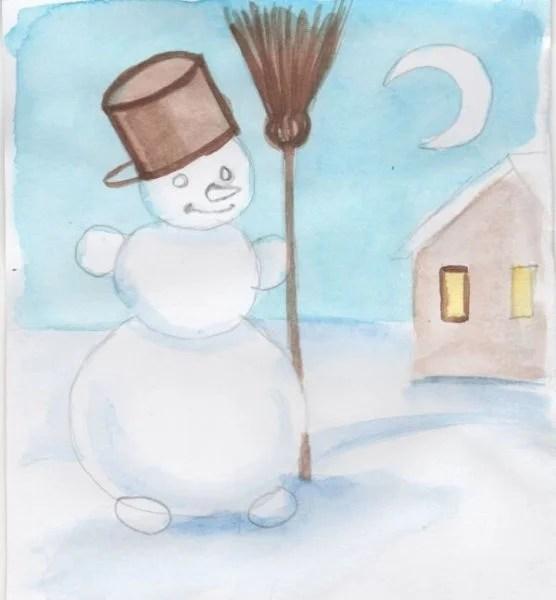 Dessins pour sujets de Noël: Que peut-on tirer sur la nouvelle année Risunki Na Novogodnyuyu Temu 120