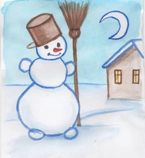 Рисунки на новогоднюю тематику: что можно нарисовать на Новый год risunki na novogodnyuyu temu 121